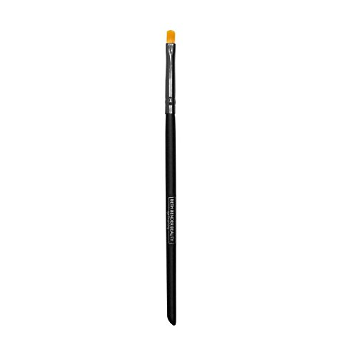 Dome Shaped Mini Eyeliner Brush - Create Precise & Professional Winged or Cat Eye Looks At Home. Created by Celebrity Makeup Artist. Cruelty Free, Vegan, Made in USA.