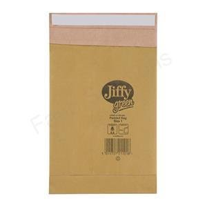 JIFFY PADDED BAG 165X280MM PK100 PB1