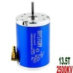 Mystery 13.5T 2500KV Brushless Motor for 1:10/1:12 Scale Electromotion SUV/RV Car(Blue)