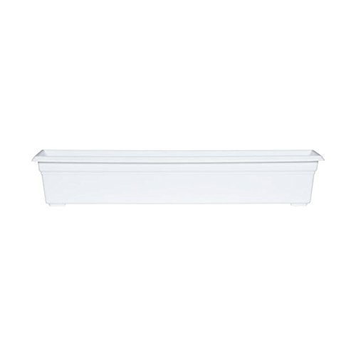 Countryside Flower Box Planter, White, - Store Countryside