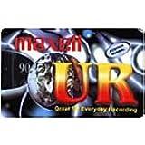 Maxell UR Kassetten mit geringem Rauschpegel 10 Stück