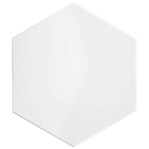 SomerTile FEQ8HGB Hexagono Ceramic Floor and Wall Tile, 7