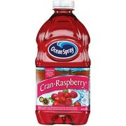Ocean Spray: Cran-Raspberry Juice Drink, 64 Fl Oz(Pack of 4)