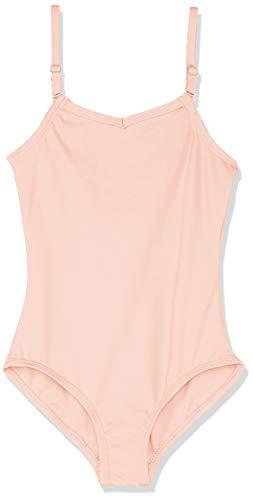 - Capezio Girls' Big Team Basic Camisole Leotard w/Adjustable Straps, Ballet Pink, X-Large