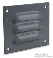 Vent, Steel, Grey, Enclosures, 99 mm, 114 mm