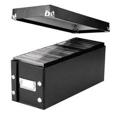 Price comparison product image Snap-N-Store SNS01521 Media Storage Box, Holds 60 Slim/30 Standard Cases