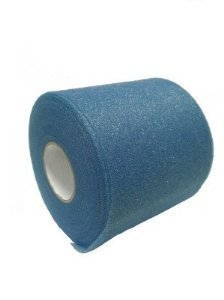 Mixed Colors Bulk Prewrap for Athletic Tape - 12 Rolls, Blue ()