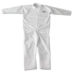 KleenGuard 49005 A20 Breathable Particle-Pro Coveralls, Zip, 2X-Large, White, -