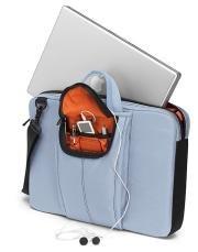 Brenthaven MetroLite Laptop Shoulder Case, Baby Blue (Brenthaven Shoulder Case)