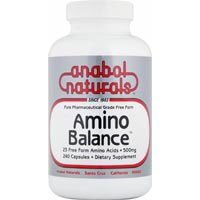 Amino Balance, Powder 500 Gm by Anabol Naturals (Pack of 3) by Anabol Naturals