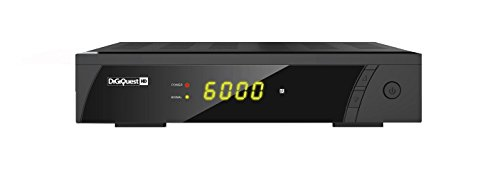 DigiQuest 8000HD digitaler Full HD Satellitenreceiver FTA HDTV DVB-S2 (HDMI, Scart, Display, USB 2.0)