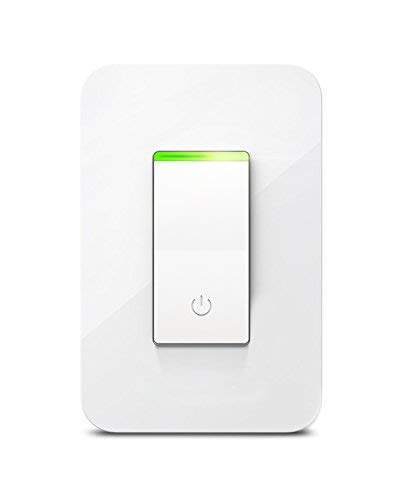 Smart Light Switch, Aicliv WiFi Smart Switch Works with Alexa Echo & Google Home IFTTT, Control Lighting from Anywhere, No Hub Required, 15A, FCC and ETL Listed (Neutral Wire Required)