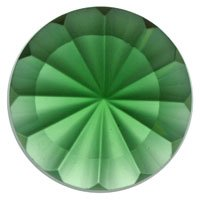 Stained Glass Jewels - 35mm Fluted - Sea Green