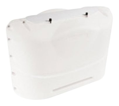 - Camco  Heavy-Duty 20lb Propane Tank Cover Protector- Protect Popane Tank from Flying Debris, Provides Easier Access to Gas Valves (Polar White) (40523)