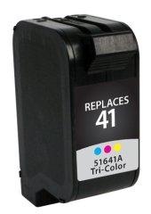 Compatible HP 41 - DeskJet 820Cse, 820Cxi, 830, 832, 850c, 855c, 855Cse, 855Cxi, 870Cse, 870Cxi; OfficeJet Pro 1150C, Pro 1150Cse, V40, V40xi - Tri-Color - 1150cse Ink