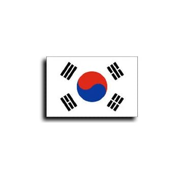 3x5 south korea flag korean national - Picture of a korean flag ...