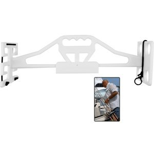 Taco Metals Poly Rod & Reel Tote Em Rack (White)