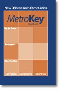 New Orleans Metro Area (MetroKey Mapbook: New Orleans Area Street Atlas)