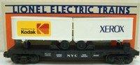 Lionel 17871 TTOS Convention Car New York Central Flat Car w/Kodak and Xerox Trailers