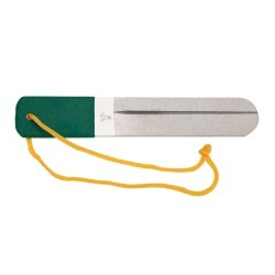 "Dr. Slick Hook File, 2 Sided, Dual Sharpening Grooves, 6"", S.S.,w/Diamond surface, Med/Hvy.Grit"
