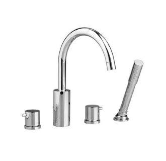 Roman Tub Tile (Jado 814/084/100 Borma Roman Tub Set with Hand Shower, Polished Chrome)