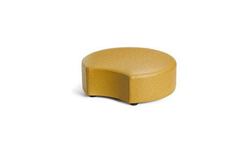 Logic Furniture MOONCFW06 Moon 2 Crescent Ottoman, 6'', Fawn by Logic Furniture