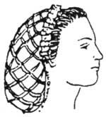 Victorian Hat History | Bonnets, Hats, Caps 1830-1890s 1850s to 1860s Net for Hat Pattern $14.95 AT vintagedancer.com