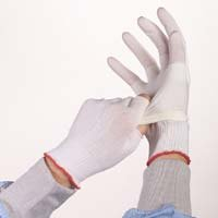 Berkshire BCR Full-Finger Polyester Glove Liner Glove, Full Finger, Large (Pack of 200 Pairs) by Berkshire