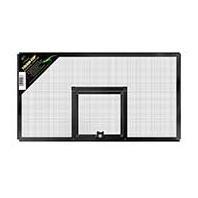 Zilla Reptile Terrarium Covers Fresh Air Screen, Hinge, 20x10-inch (Metal Mesh) - Reptile Cover