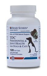 tdc-periodontal-joint-health-for-dogs-cats-by-henry-schein-120-softgels