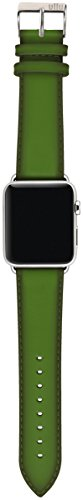 ullu Apple Watch Band for Series 1 & Series 2 in Premium Leather - Lime - UAWS38SSVT93 by ullu (Image #7)