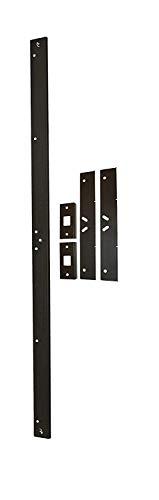 Door Armor MAX - Complete Door Reinforcement Set For Jamb, Frame, Strike Plate - DIY Home Door Security - Aged Bronze