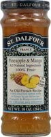St. Dalfour All Natural Fruit Spread Pineapple & Mango - 10 oz