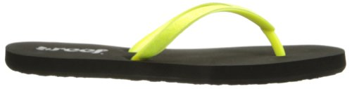 Reef Stargazer, Sandalias De Caucho Mujer Amarillo (Jaune (Neon Yellow))