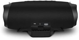 Audio Subwoofer Bluetooth Speaker Bluetooth Audio Portable Bluetooth Speaker Waterproof Bluetooth Audio Black Advanced Configuration Edition