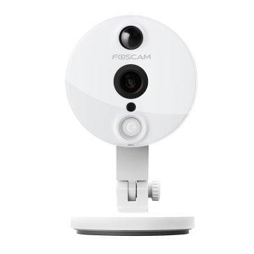 Foscam C2/W - Cámara IP de vigilancia de interior, 2 MP, función