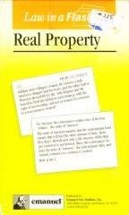 Real Property (Law in a Flash Ser)