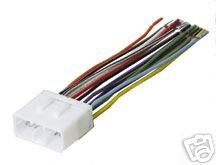211655NFE4L amazon com stereo wire harness subaru impreza 02 03 04 05 (car pioneer to subaru wiring harness at bayanpartner.co