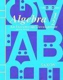 Algebra 1-2, Grades 4-8, Saxon, John H., 1565770005