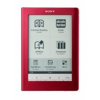 Sony Digital Reader Touch Edition - Red (PRS600RC) by Sony
