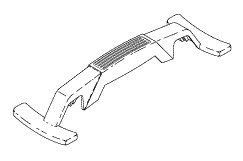 Handle Assembly PCA805 by Replacement Parts Industries RPI