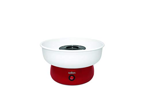 Salton CCM1779 Cotton Candy Maker One Size White, Red]()