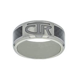 One Moment In Time J113 - Titan - CTR Ring - Titanium with Carbon Fiber Inlay (10)