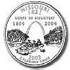 2003-D U.S. Washington Quarter - Missouri