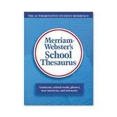 MER78 - Merriam Webster School Thesaurus