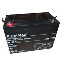100Ah 12V Deep Cycle AGM Battery for Leisure, Solar, Wind and Off-grid 12 volt ULTRA MAX