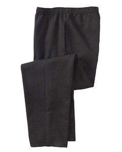 Loom Sweatpant - Fruit Of The Loom 8 oz. Best 50/50 Fleece Pant with Mesh Pockets Sweatpants 51300R black X-Large