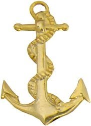 US Navy Anchor Lapel Pin or Hat -