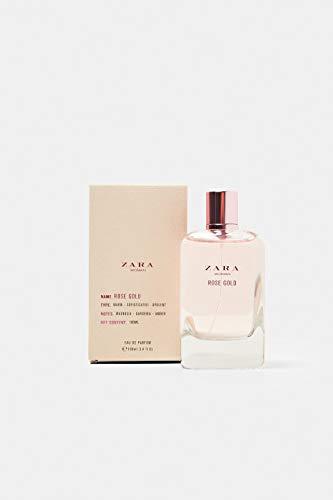 New ZARA ROSE GOLD EAU DE TOILETTE 100 ML for woman eau de parfum