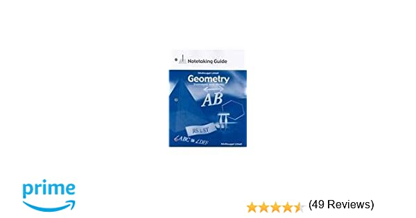 Amazon geometry concepts and skills worked out solution key amazon geometry concepts and skills worked out solution key 9780618140534 mcdougal littel books fandeluxe Choice Image